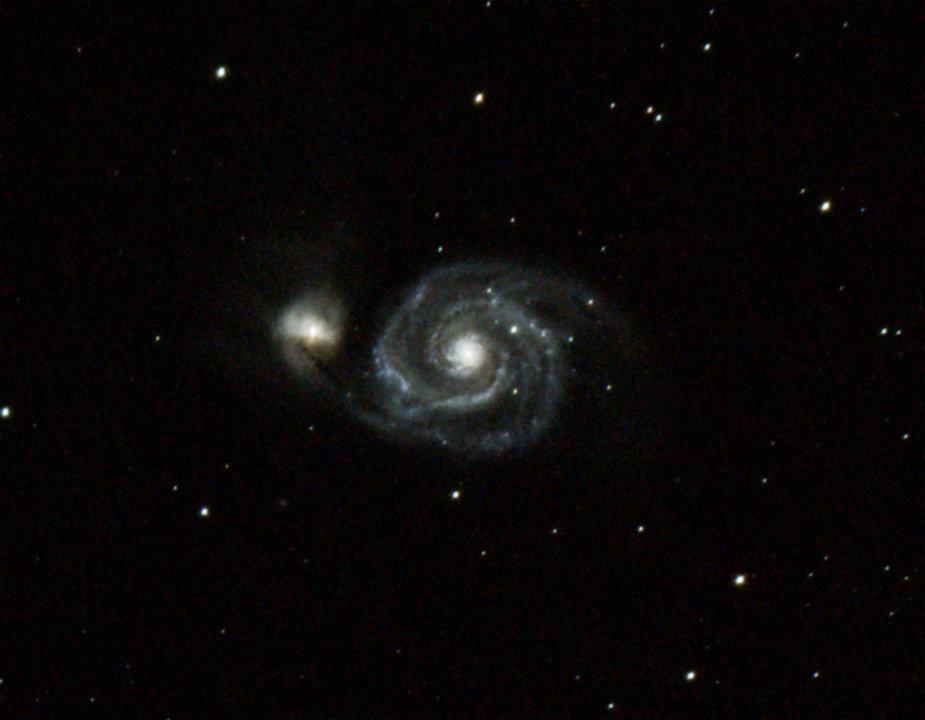 Whirlpool Galaxy - 80mm