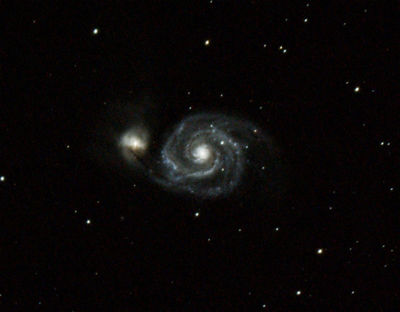 Whirlpool Galaxy - 80mm
