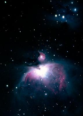 Orion Nebula (my first AP photo) - 80mm