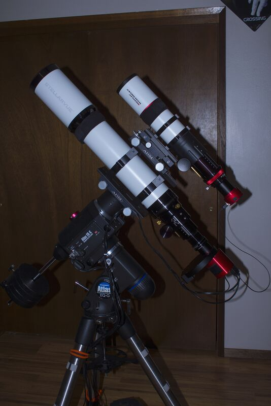 SV102T and AT72EDii imaging setup