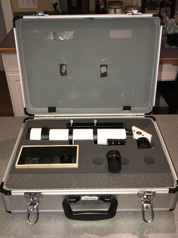 Lunt LS35ThaDX in it's case (note: form for lid is missing)
