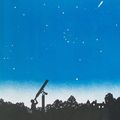 """Leslie's sketch of the 4-inch Mogey refractor was used for the book jacket cover on the early editions of """"Starlight Nights"""""""
