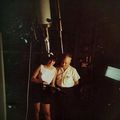 1964 Don and Carolyn Hurless with Leslie Peltier at the 12-inch Clark refractor