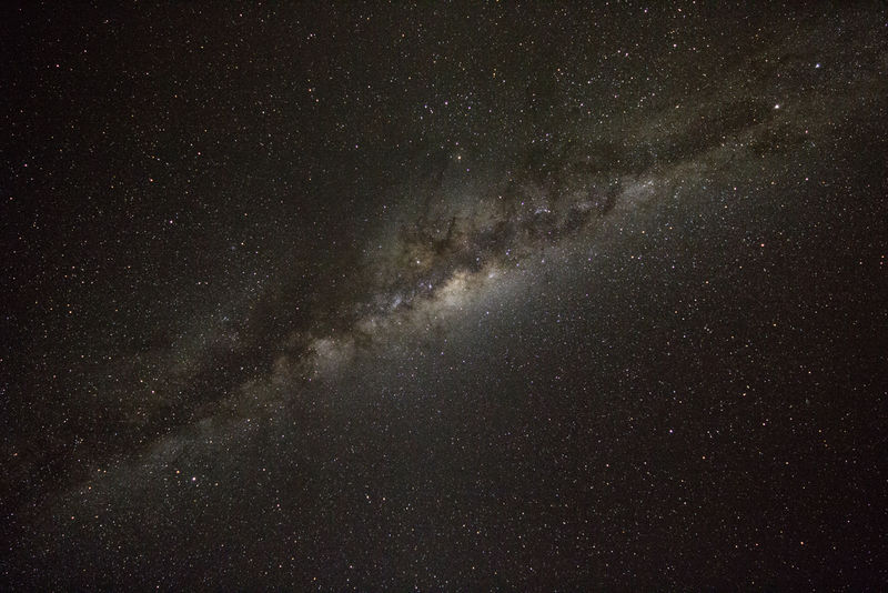 Central Hub of the Milky Way