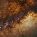 Great Sagittarius Star Cloud & Vicinity