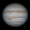 3-frame Derotation of Jupiter