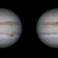 Jupiter & Europa Stereo Animation
