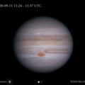 Jupiter Storms & Streamers 2020-09-11