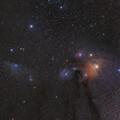 Blue Horsehead & Rho Ophiuchi Nebulas