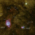 Lagoon Nebula Peninsular Region