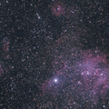 Running Chicken Nebula & Surrounds