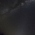 Zodiacal Light with Milky Way