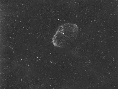 NGC-6888 Crescent Nebula