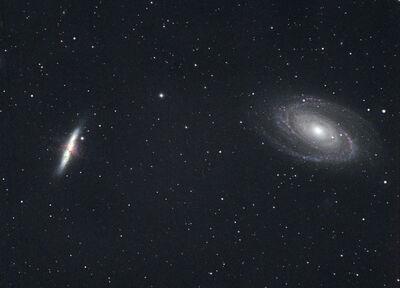 M81 M82 HaRGB
