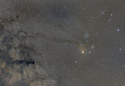 Rho Ophiuchi Nebulae