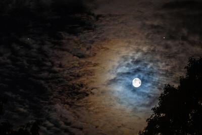 Moon, Jupiter & Saturn 0815