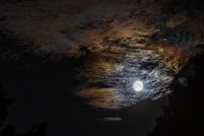Moon, Jupiter & Saturn 0800