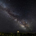 Montauk Hither Hills Milky Way