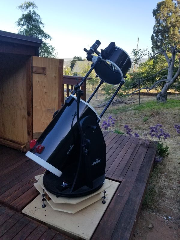 "Skywatcher 12"" on TL Systems Equatorial Platform"
