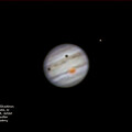 Jupiter with shadows