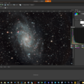 M33 With Improved Histogram