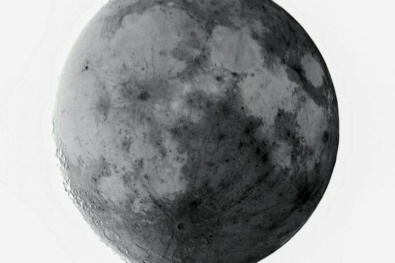 Moon with inverted color