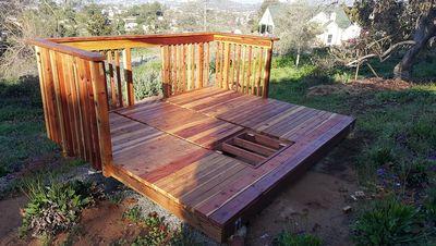 deck floor complete