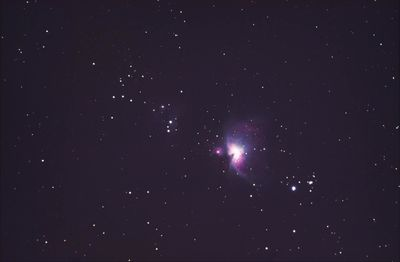 The Great Orion Nebula and partial Running Man