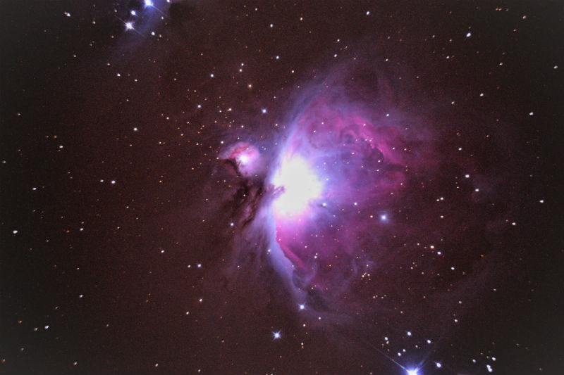 M42 Orion Nebula 1 21 2017