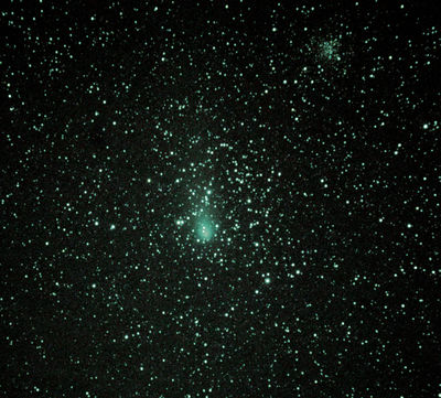 21P Giacobini-Zinner and M35 in Gemini