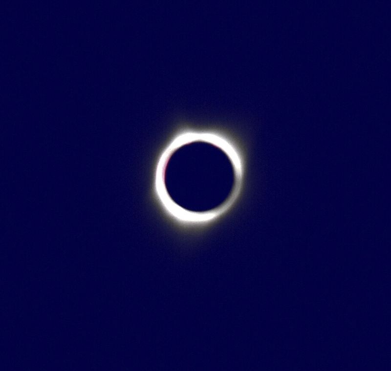 Total Solar Eclipse @ Totality (2017)