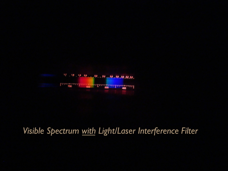 LIF visible spectrum