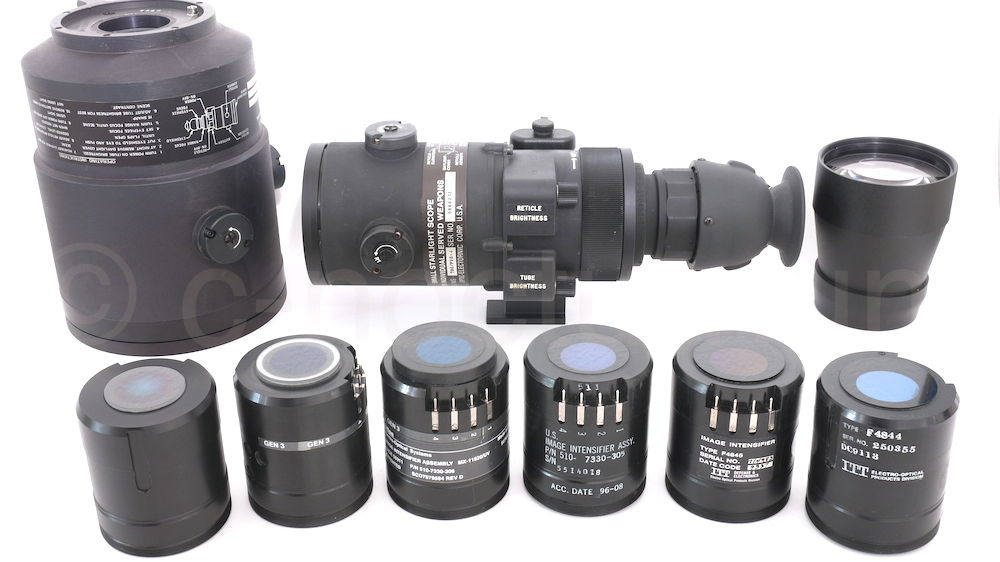 AN/TVS-5 And AN/PVS-4