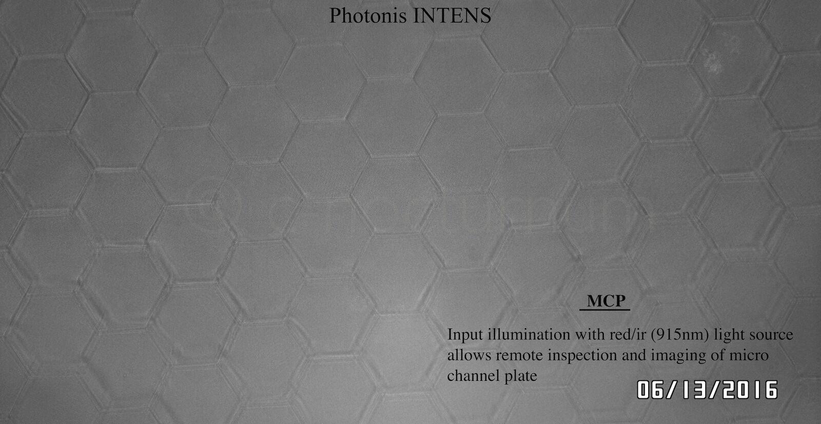 Photonis 4G INTENS MCP