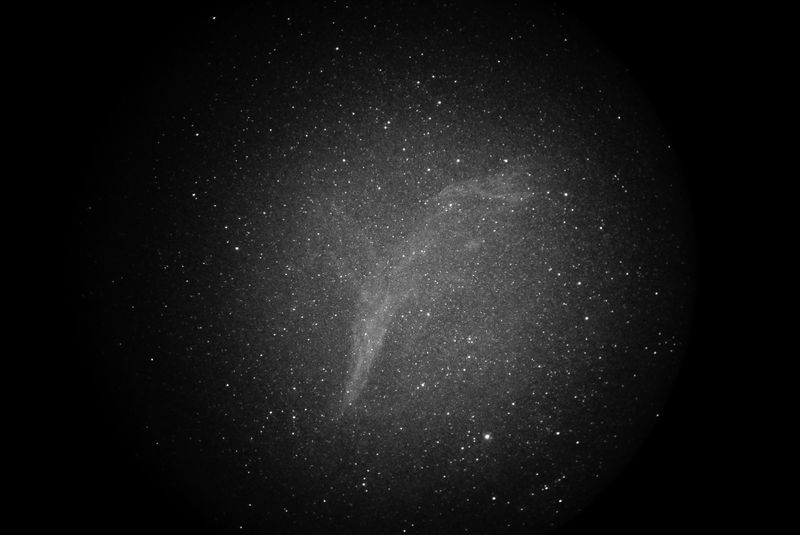 Super Nova Remnant in Antlia and Pyxis SH2-312