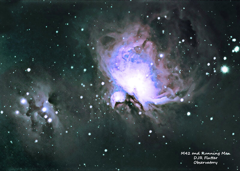 M42 and Running Man