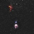 Orion's Nebulas