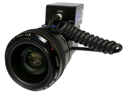 Canon EF Lens Controller with Lens