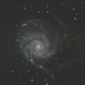 M101 with optolong L Pro final