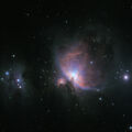 M42 & the Running Man in LRGB
