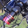 optical train through the focal reducer after flocking and painting