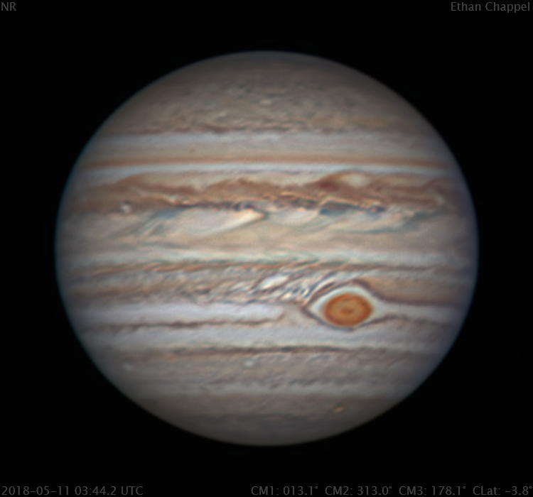 Jupiter | RGB | 2018-05-11 3:44.2 UTC