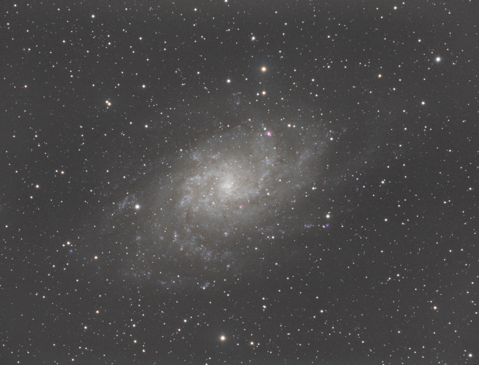 M33 - Triangulum Galaxy (First Pass)