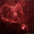 Heart & Fishhead Nebulae