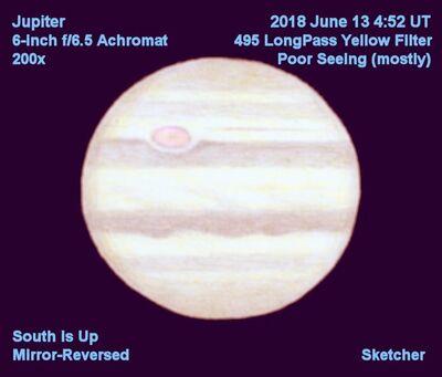 Jupiter June 13 2018 AR152 200x Sketcher