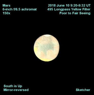 Mars 6 inch F 6.5 achromatSketcher   text