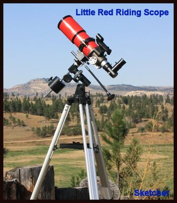 Little Red Riding Scope    Sketcher Sept 4 2019