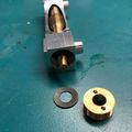 O-Vision worm with brass end cap removed