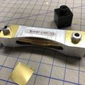 O-Vision worm with 5 mil brass shims