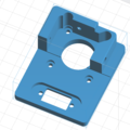 ES G11 stepper motor mounting plate concept